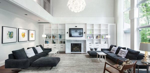 Comment cr er une d co contemporaine - Deco interieur maison contemporaine ...