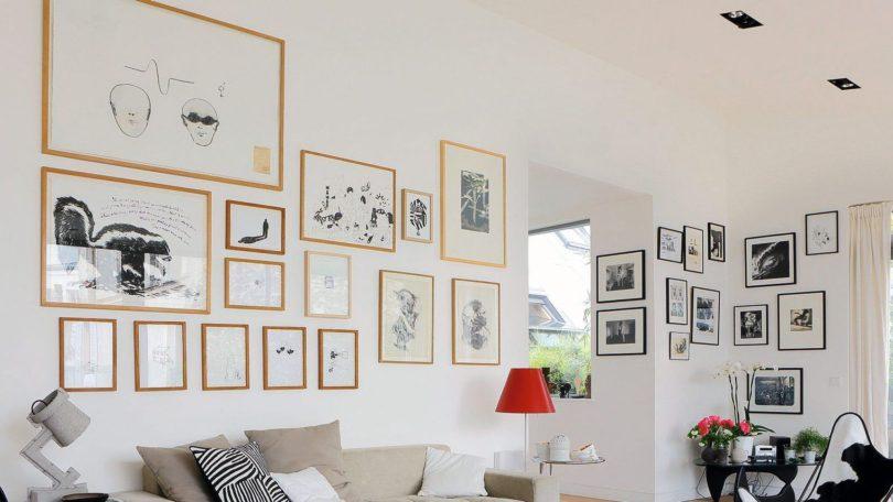 Dcoration mur salon archives dconome decorer ses murs - Decorer un grand pan de mur ...